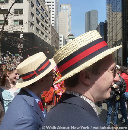 New York Easter Parade Boater Hats