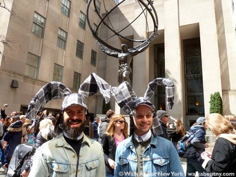 New York Easter Parade Rabbit-Ear Hats