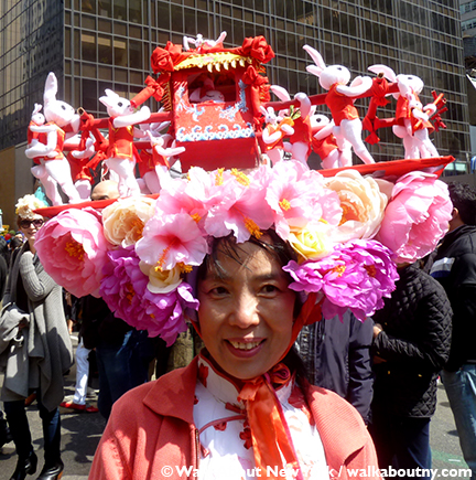 New York Easter Parade Chinese Bunnies