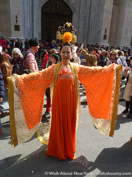 New York Easter Parade Chinses Costume