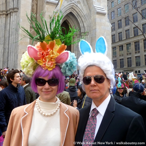 New York Easter Parade Bunny Ears