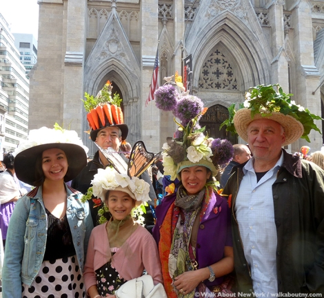 New York Easter Parade Family Hats