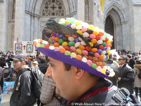 New York Easter Parade Jelly Bean Hat