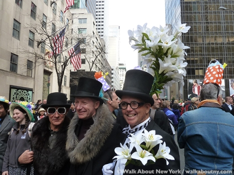 New York Easter Parade Easter Lily Hat