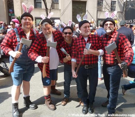 New York Easter Parade Lumber Jacks