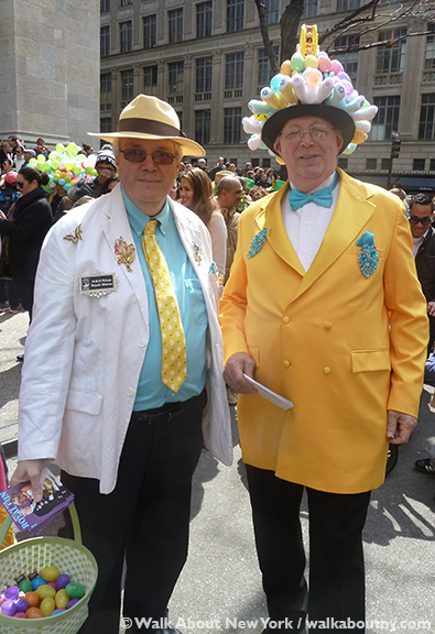 New York Easter Parade Yellow Coat