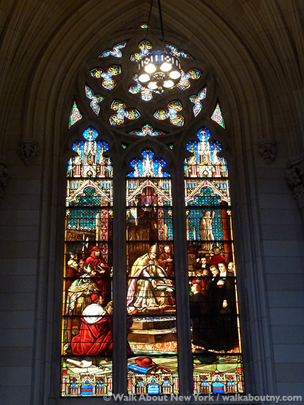St. Patrick's Cathedral, Fifth Avenue, New York, Stained Glass Windows, Gothic, Walk About New York