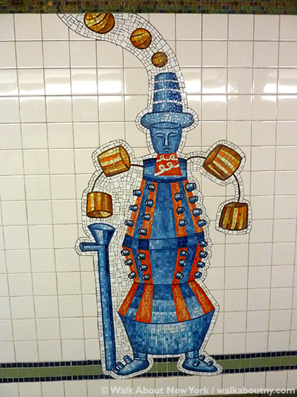NYC Subway Art 28th St. and Broadway