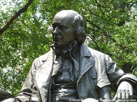 Horace Greeley, New York Tribune, World Press Freedom Day, Park Row, Printers Row, John Quincy Adams Ward