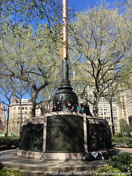 Image result for picture of union square park flag