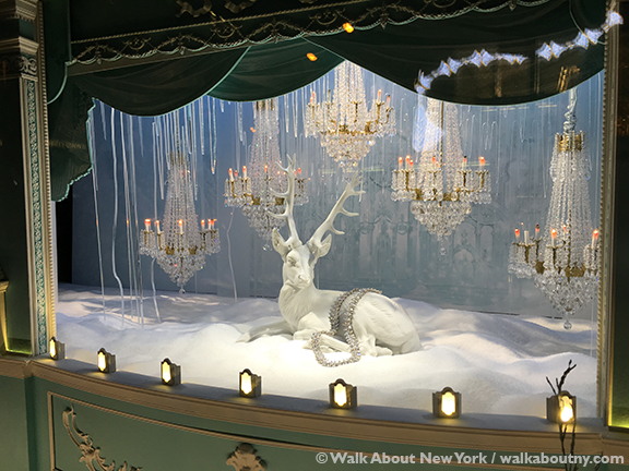 Christmas, New York, Tiffany, Window Display