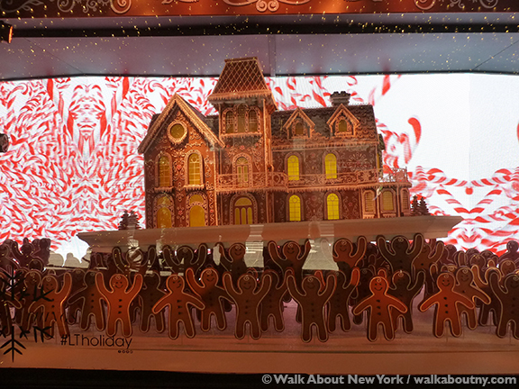 Christmas, New York, Lord & Taylor, Window Display
