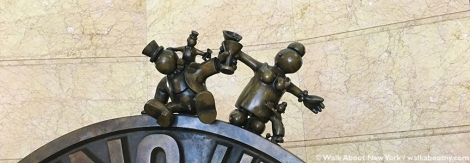 Penny, Tom Otterness, 1325 Avenue of the Americas, Bronze, Sculpture, Money, Oppression, Capitalism, Subway Art Tour One