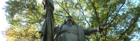 Christopher Columbus, Central Park Walking Tour, Walk About New York, Central Park, Bronze Statue, Sculptural Art, New York, Walking Tour