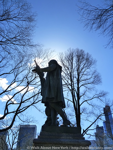 Christopher Columbus, Central Park Walking Tour, Walk About New York, Central Park, Bronze Statue, Sculptural Art, New York, Walking Tour
