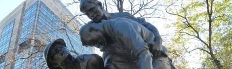 1914, Mitchel Square, Gertrude Vanderbilt Whitney, Armistice Day, Greenwich Village, Greenwich Village Walking Tour, the Great War, the War to End All War, Veterans Day, World War I, Washington Heights, Inwood