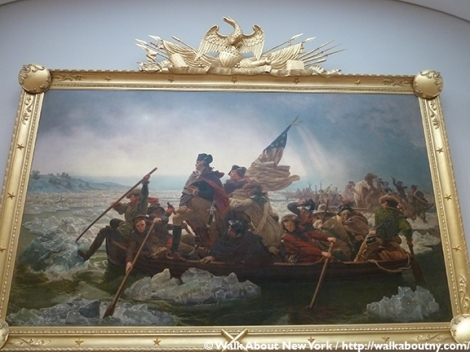 Emanuel Leutze, Washington Crossing the Delaware, Christmas 1776, American Revolutionary War, Metropolitan Museum of Art
