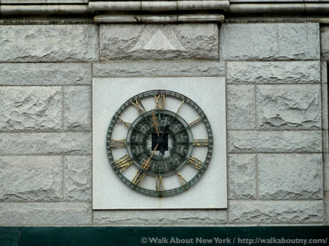 Clocks, Time, Street Clocks, Public Clocks, Save America's Clocks, Downtown Manhattan Walking Tour, Five Squares and a Circle Tour, Sidewalk Clocks