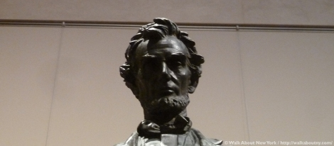 Metropolitan Museum of Art, Abraham Lincoln, Augustus Saint-Gaudens, Sculpture, Art, Bronze, Standing Lincoln, New York Vacation