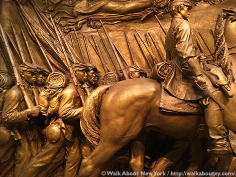 Augustus Saint-Gaudens, National Park Service, Boston Commons, Sculpture, the 54th Massachusetts Infantry, Civil War, Black Regiment, Beaux-Arts, Shaw Memorial, Glory