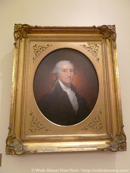 George Washington, New York Pulbic Library, Rembrandt Peale, Portrait, American Art, Painting