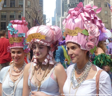 Easter Parade, Fifth Avenue, New York, Walk About New York, Easter Bonnet, Easter Sunday, Festive