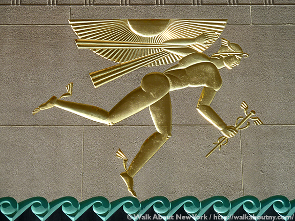 Rockefeller Center Art Tour, 30 Rock, Rockefeller Center, Fifth Avenue, Mercury, Atlas, Chanel Gardens, Art Deco, John D. Rockefeller Jr., 1930s