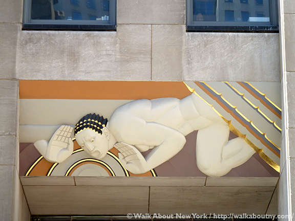 Rockefeller Center Art Tour, 30 Rock, Rockefeller Center, Fifth Avenue, Mercury, Atlas, Chanel Gardens, Art Deco, John D. Rockefeller Jr., 1930s, Prometheus, Sound
