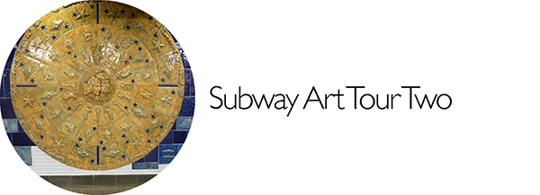 Subway Art, Percent for Art, MTA, Walk About New York, Walking Tour