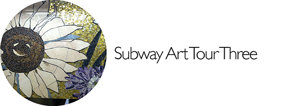 Subway Art, Walk About New York, Hudson Yards, Walking Tour, Off the Beatn Path, 77th Street, Lexington Avenue, Lenox Hospital, Mosaic Art, Mosaic