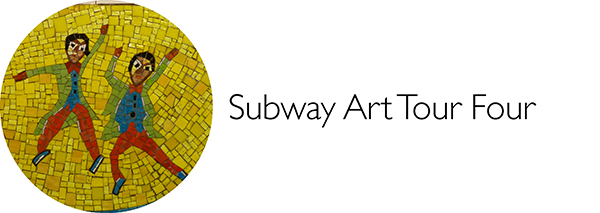 Subway Art, Walk About New York, Walking Tour, Harlem, Lenox Avenue