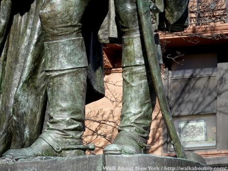 George Washington, Marquis de Lafayette, Morningside Park, Lafayette Square, Frédéric-Auguste Bartholdi, Walk About New York, Morningside Heights,