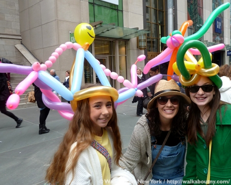 Easter Parade, Easter Bonnet, Easter Bunny, Fifth Avenue, Easter Sunday, Rockefeller Center, St. Patrick's Cathedral, St. Patrick's, Walk About New York, Balloon Hats
