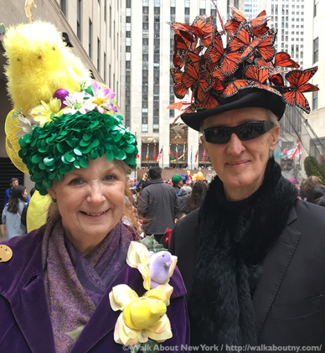 Easter Parade, Easter Bonnet, Easter Bunny, Fifth Avenue, Easter Sunday, Rockefeller Center, St. Patrick's Cathedral, St. Patrick's, Walk About New York, Butterflies