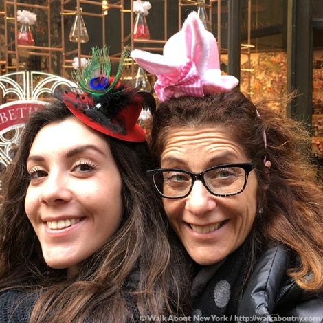Easter Parade, Easter Bonnet, Easter Bunny, Fifth Avenue, Easter Sunday, Rockefeller Center, St. Patrick's Cathedral, St. Patrick's, Walk About New York, Mother Daughter