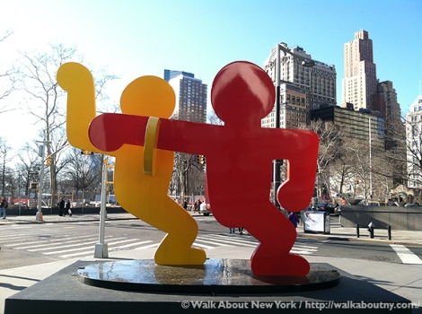 Keith Haring, Art, Downtown Manhattan, AIDS, Artist, Gay Artist, Gay Activist, Gay Pride, Murals, St. John the Divine, Carmine Street Mural, Drawing, Crack is Wack, New York City Parks, Greenwich Village