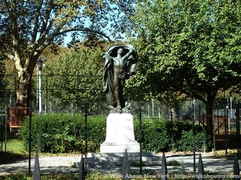 World War I, Memorials, Brooklyn, Sculpture, Bronze, Bronze Sculpture, Pietro Montana, Italian Immigrants, Italians, Immigrants, Bushwick, Armistice,