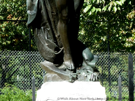 World War I, Memorials, Brooklyn, Sculpture, Bronze, Bronze Sculpture, Pietro Montana, Italian Immigrants, Italians, Immigrants, Bushwick, Armistice,