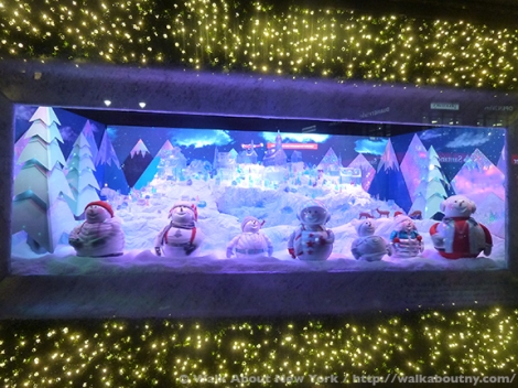 Bloomingdales, Bergdorf Goodman, Tiffany & Co., Saks Fifth Avenue, Christmas, Holiday Windows, Fifth Avenue, Macy's, Candy, Chocolate, Confections, Goodies, Grinch, Snow Pal, Snowflakes