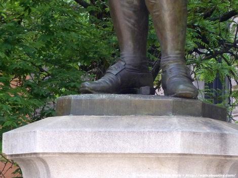 Ben Franklin, Printer, Printing, Old Richard's Almanac, Printer's Row, Park Row, American History, New York City History, City Hall, Founding Father