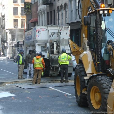 Workers, Laborers, New York, Big Apple, Hard Work, Polish the Big Apple