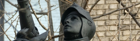 Joan of Arc, Riverside Park, New York City, Manhattan, Horses, Sculpture, Bronze, Anna Huntington, Women Artists